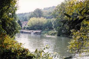 Louveciennes la seine